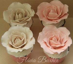 cupcake flor 3d
