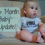O bebê de 6 meses