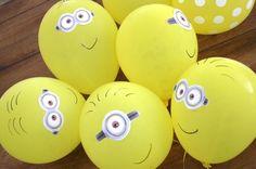 balão dos minions