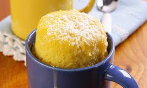 bolo de caneca laranja