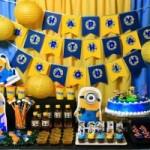 Festa Infantil- Tema Minions
