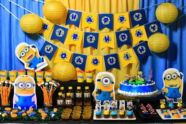 Festa de Aniversário de 1 Ano – Temas e Lembrancinhas