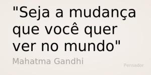 frase Ghandi