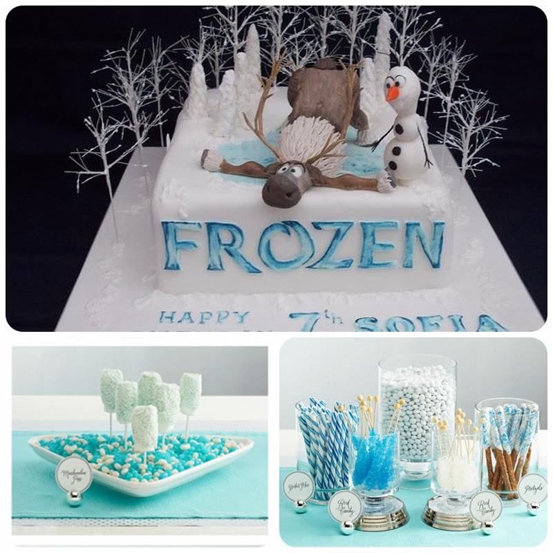 decoração-festa-infantil-frozen