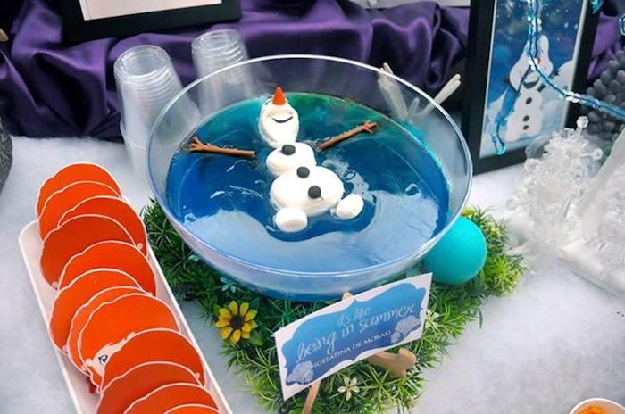 enfeites mesa frozen