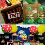 Festa Infantil-tema Angry Birds