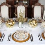 Decoração-Natal-dourado-e-branco-mesa-jantar
