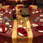 Comidinhas e Idéias de Decoração de Mesas para o Natal