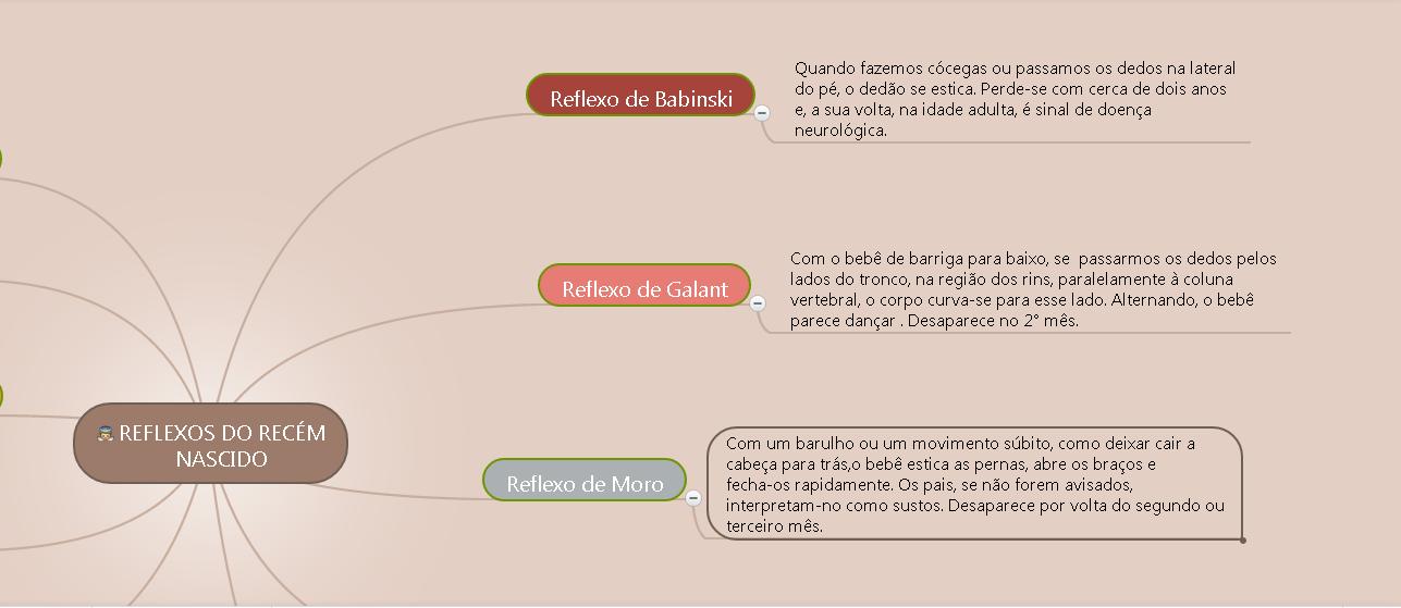 Mapa Mental Refexos do Recém Nascido2