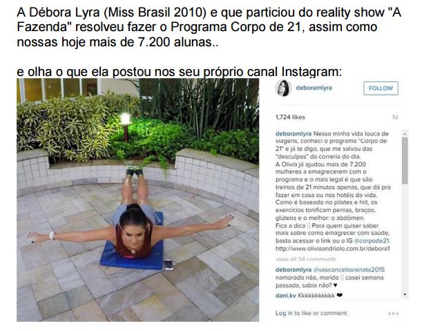 imagem miss brasil corpo d21